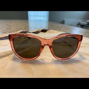 Tory Burch Red and Black Sunglasses